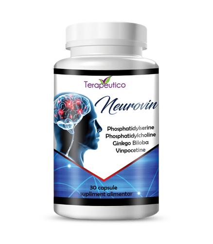 Neurovin 30 cp cu Ginkgo biloba si vitamine