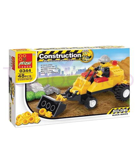 Set constructii macaragiu tip lego