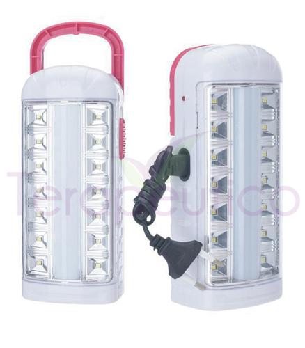 Lanterna mare cu doua functii de iluminat cu incarcator