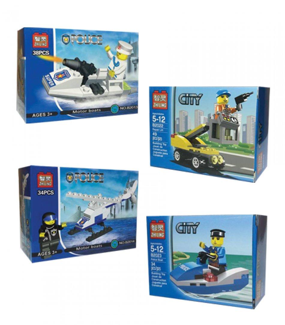 Set jucarii pentru copii de peste 3 ani, 34 piese