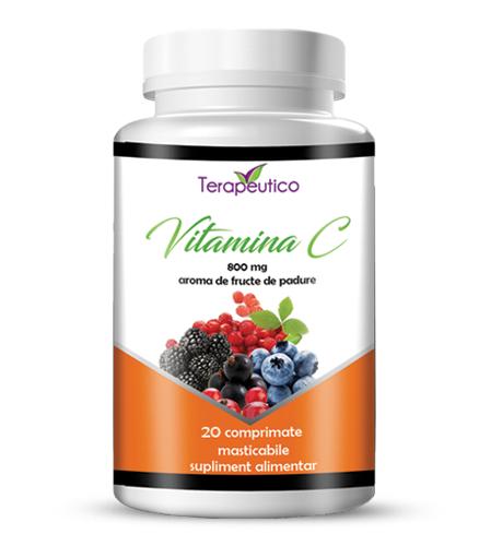 Vitamina C 800mg 20 cp