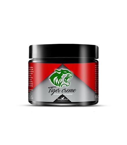 Crema Puterea Tigrului cu Camfor si Mentol 50 ml