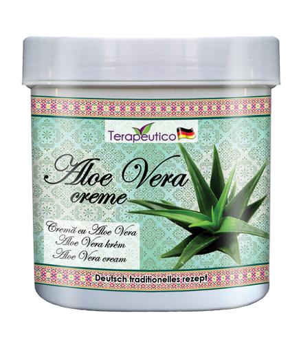 Crema traditionala cu aloe vera pentru piele cu probleme 250ml