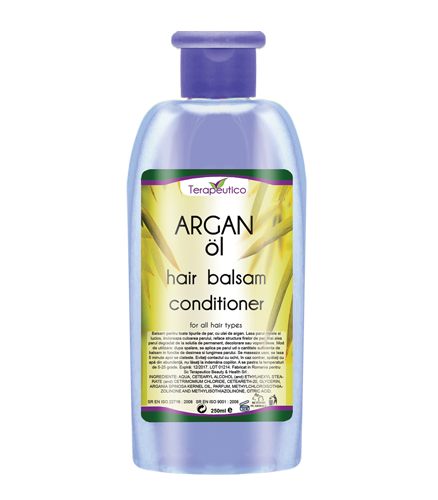 Balsam de par cu ulei de Argan - 250ml