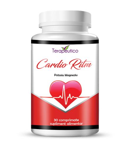 Cardio Ritm pentru inima si vase de sange sanatoase 30cp