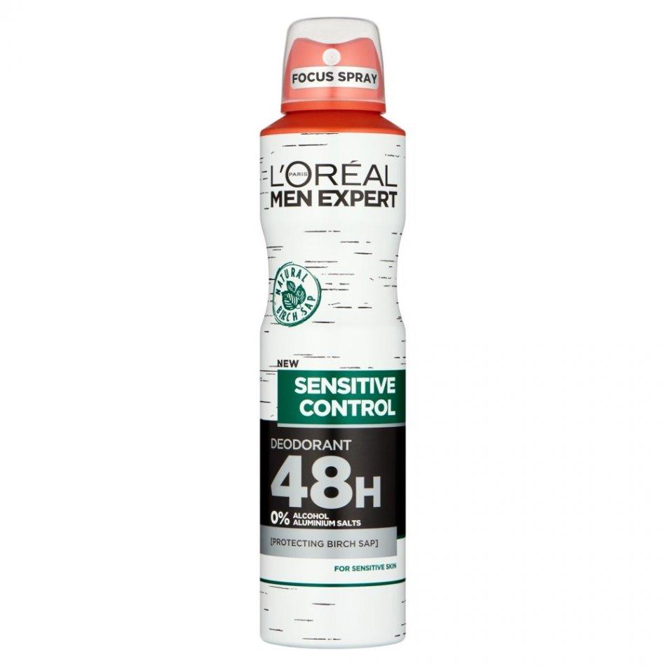 L`Oreal Men Expert Sensitive Control 48H deodorant antiperspirant spray 250 ml