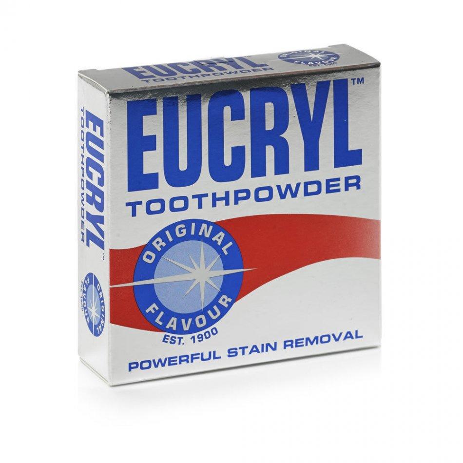Pudra pentru curatat si albit dintii  Eucryl Original 50 g