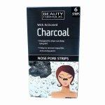 Stripuri pentru nas cu carbune activat Beauty Formulas Charcoal 6buc/cutie