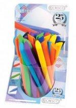 Cresco Twister Pix cu ecanism  diverse culori/scris albastru 1 buc