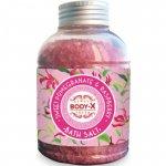 Body-X Sweet Pomegranate & Raspberry sare de baie  600 g