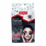 Beauty Formulas Eye Gel Patches patch uri gel pentru ochi cu carbune activ si vitamina C 6 perechi