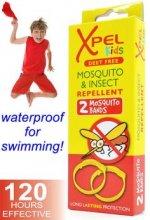 Xpel Kids Mosquito & Insect bratara antitantari pentru copii 2 buc