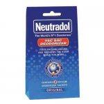 Neutradol Vac Sac Deodorizer Original odorizant sac aspirator 3 saculeti/ pachet