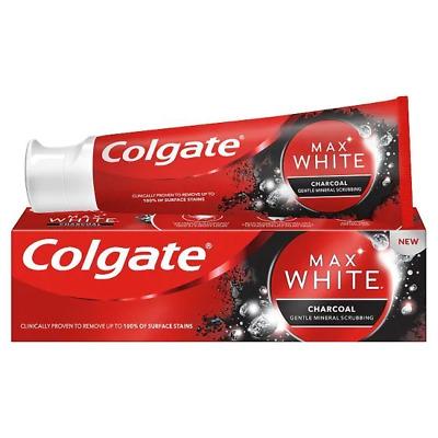 Pasta de dinti cu carbune activat Colgate Max White Charcoal 75 ml