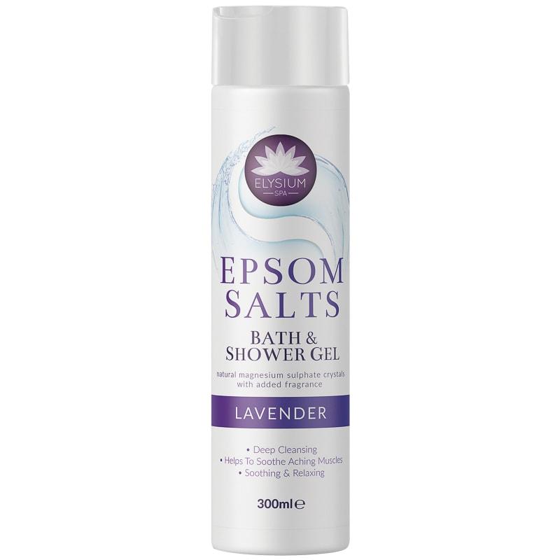 Elysium Spa Epsom Salts spuma de baie & gel de dus Lavender 300 ml