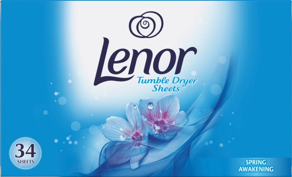 Servetele parfumate Lenor Spring Awakening, pentru uscator rufe 34 buc