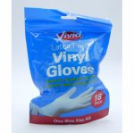 Manusi vinyl fara latex Vivid Vinyl Gloves marime universala 18 buc/set