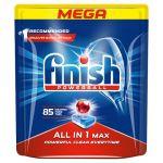 Detergent tablete pentru masina de spalat vase Finish Powerball All in 1 Max 85 tablete 1360 g