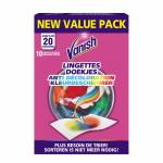 Servetele antidecolorare Vanish 10 buc /20 spalari