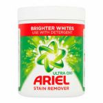 Pudra pentru indepartarea petelor si inalbitor Ariel Ultra Oxi Brighter Whites 1 Kg