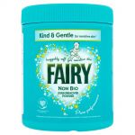 Pudra pentru indepartarea petelor Fairy Non Bio Kind & Gentle 1 Kg