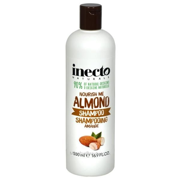 Sampon pentru par cu 95% ingrediente naturale Inecto Naturals Softly Softly Almond 500 ml