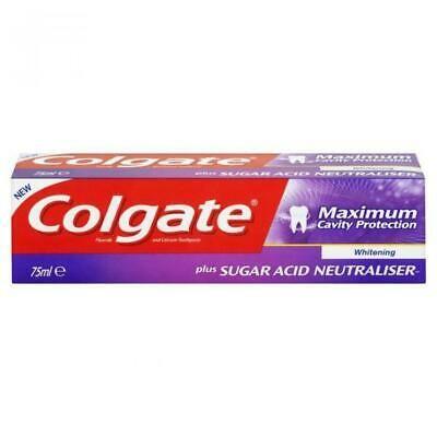 Pasta de dinti Colgate Maximum Cavity Protection, 75 ml