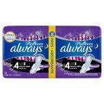 Absorbante igienice externe Always Platinum nr.4 secure night 10 buc