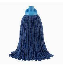 Rezerva mop bumbac Alisan Clasic Color albastru 250g