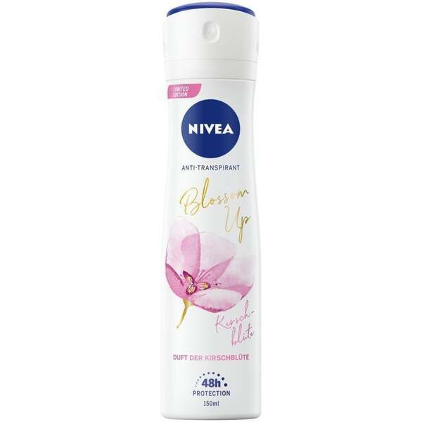 Deodorant antiperspirant spray Nivea Blossom Up Flori de cirese editie limitata 150 ml