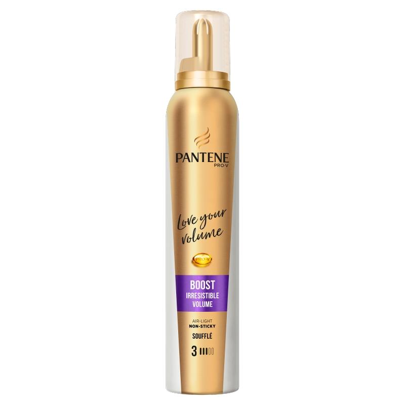 Spuma de par pentru volum Pantene Pro-V Boost Irresistible Volume 200 ml