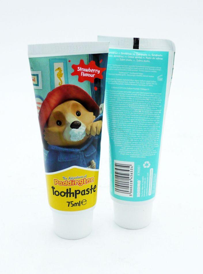 Pasta de dinti pentru copii 6+ ani strawberry Paddington 75 ml