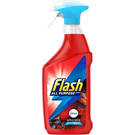 Solutie spray de curatare, multi-suprafete,Flash Febreze Spiced Apple 730 ml