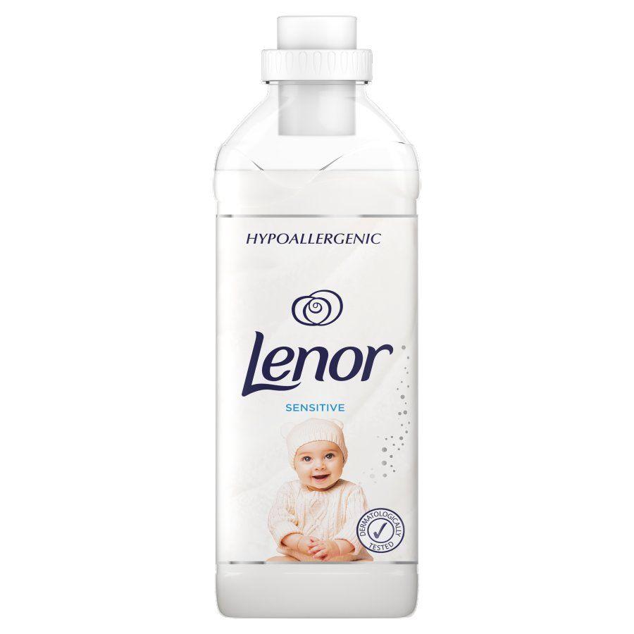 Balsam de rufe hypoallergenic pentru bebelusi Lenor Sensitive 930 ml