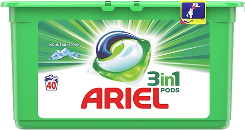 Detergent capsule Ariel All in 1 Pods Mountain Spring 40 buc 1008 g