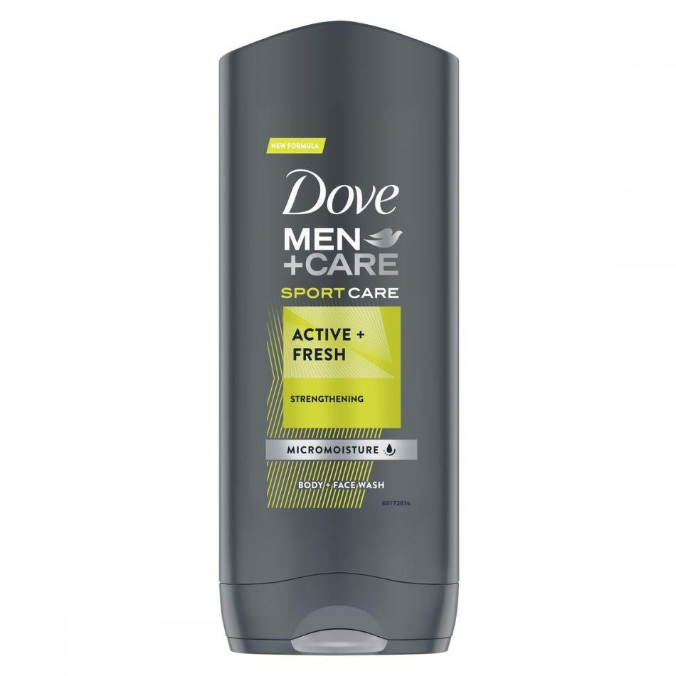 Gel de dus Dove Men+Care Sport Care Active Fresh 250 ml