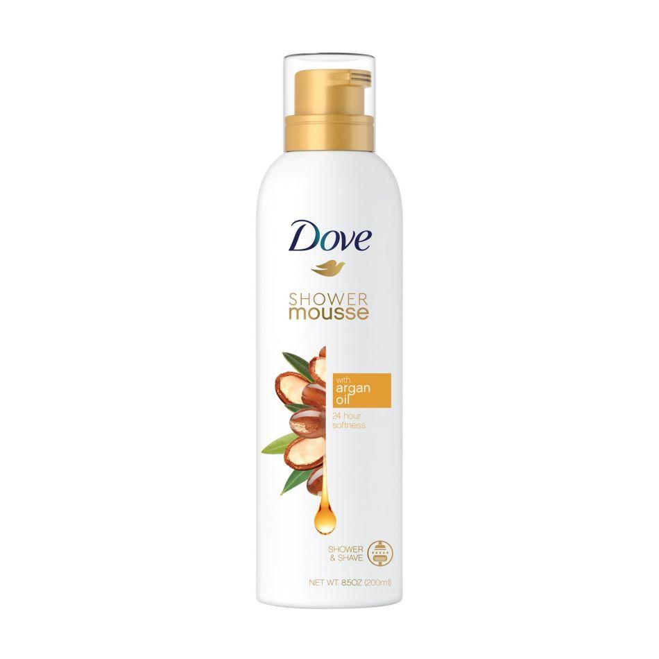 Spuma de dus cu ulei de argan Dove Shower Mousse 200 ml