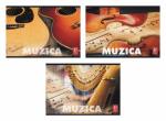 Caiet de muzica 24 file 17x24cm 80g/mp 1buc