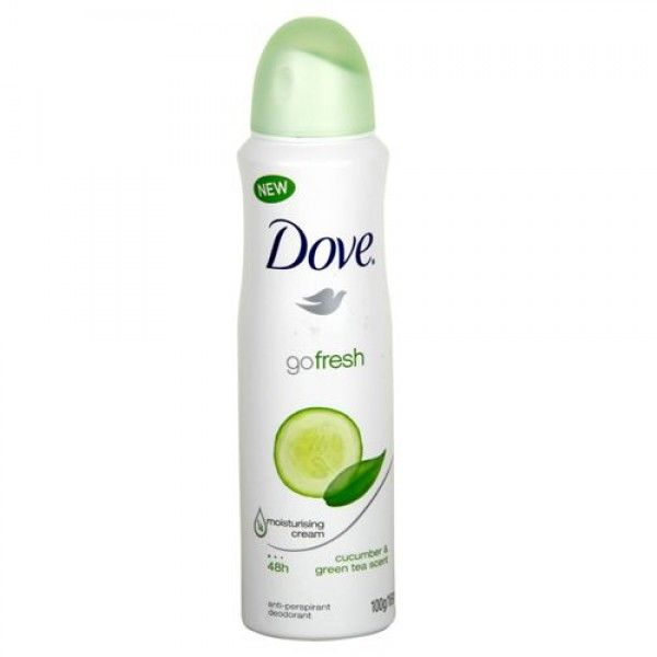 Dove Go Fresh Cucumber & Green Tea deodorant/ antiperspirant spray 150 ml