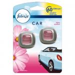 Febreeze (Ambi Pur) Car Clip Flowers & Spring odorizant auto 2 x 2 ml