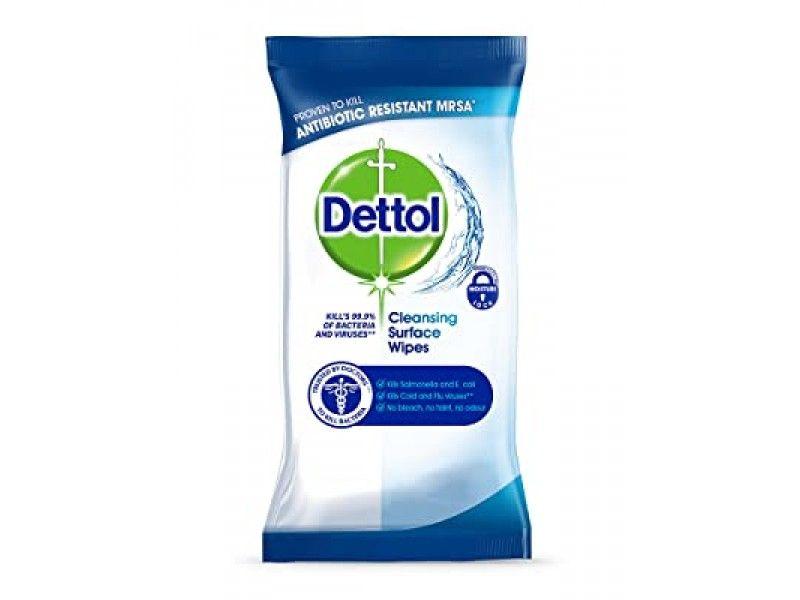 Servetele antibacteriene multi-suprafete Dettol Cleansing Surface Wipes 20 buc