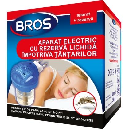 Aparat electric + rezerva lichida impotriva tantarilor 40ml Bros