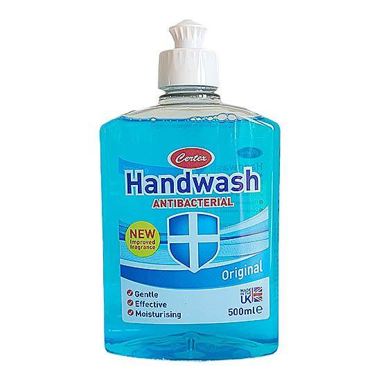 Rezerva sapun lichid antibacterian, Certex Original, 500 ml