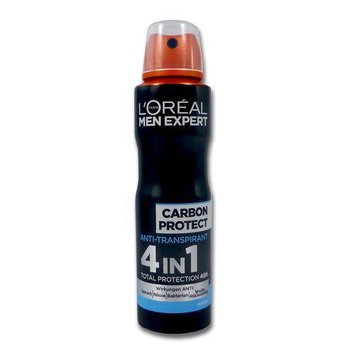 Deodorant anti-perspirant L' Oreal Men Expert Carbon Protect 4 in1 150 ml
