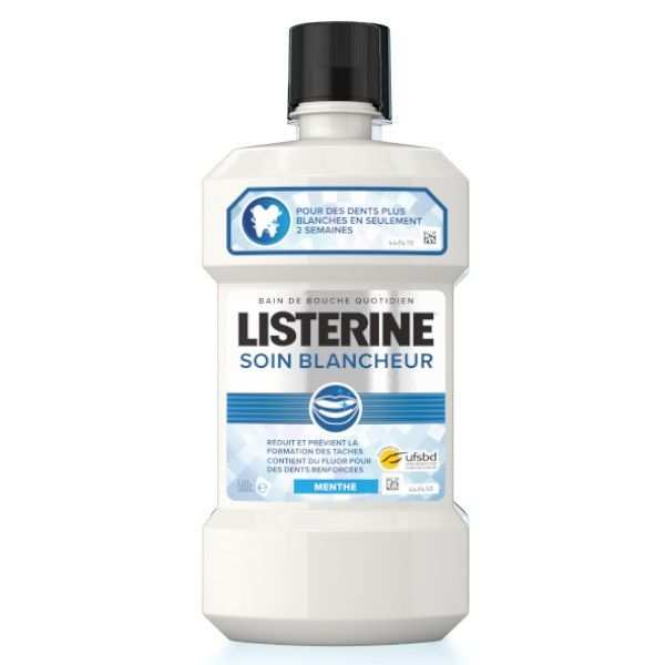 Apa de gura Listerine Soin Blancheur Menthe 500 ml