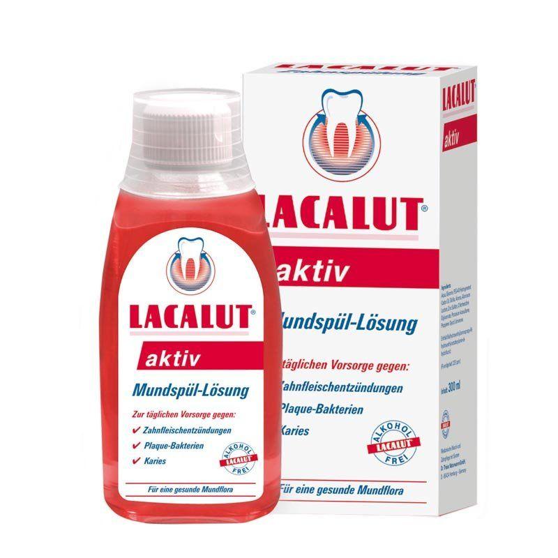 Apa de gura Lacalut Aktiv 300 ml