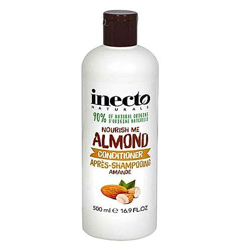Balsam de par cu 90% ingrediente naturale Inecto Naturals Nourish Me Almond 500 ml