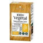 Vopsea de par pe baza de plante,100% Vegetale with Senna + Shikakai Golden Blonde Schwarzkopf 80 g