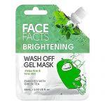 Masca de fata gel cu extract de ceai verde Face Facts Wash Off Gel Mask 60 ml