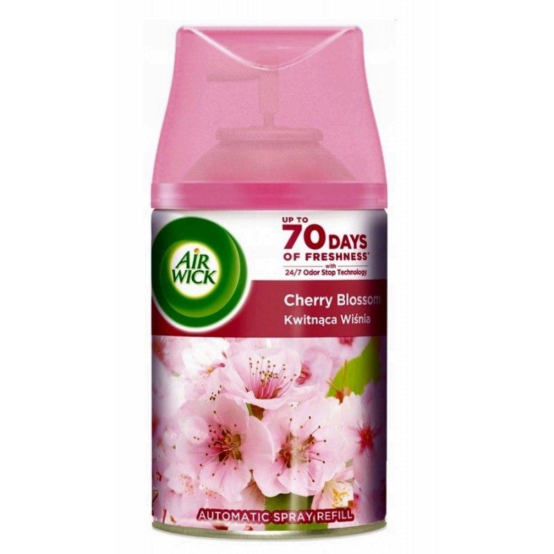 Odorizant camera Air Wick Freshmatic Cherry Blossom spray rezerva 250 ml